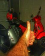 Thumbs up Vespa reviews