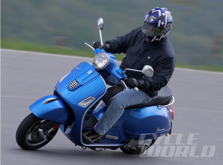GTS 300 Blue - Cycle World