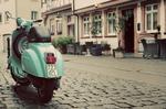 Bavaria Germany parked Vespa