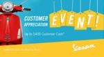 Vespa Customer Appreciation Event!
