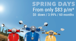 Spring Days at Vespa Orlando - $0 Down