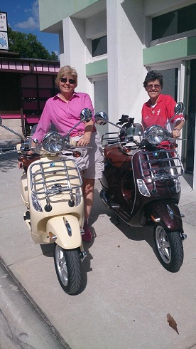 Congratulations Janet and Karen on their new LXV 150s!