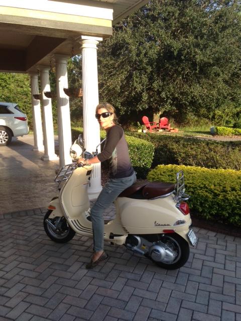 Congratulations Johanna on Her new LXV 150!
