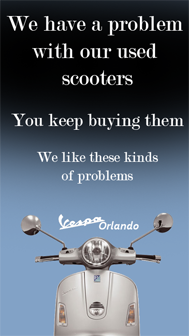 We buy used scooters